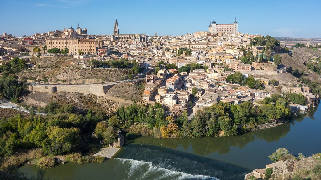 Toledo Spain, once the Capital of Castil